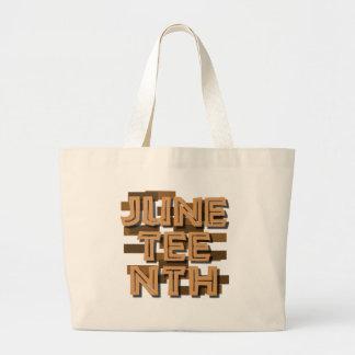 JUNETEENTH JUMBO TOTE BAG