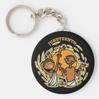 Juneteenth Key Chain