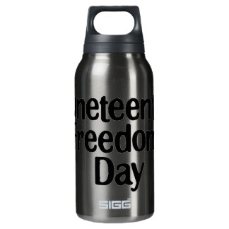 Juneteeth: Freedom Day 2.0 Insulated Water Bottle