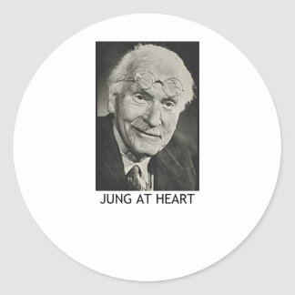 Jung at Heart Classic Round Sticker
