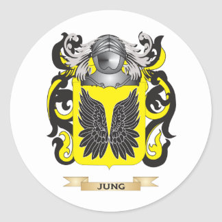 Jung Coat of Arms (Family Crest) Stickers