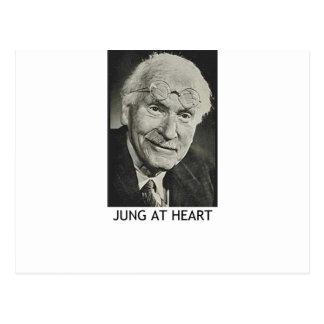 Jung en el corazón postal