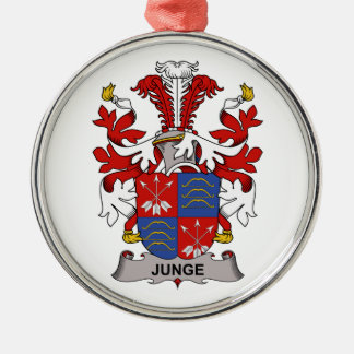 Junge Family Crest Christmas Tree Ornaments