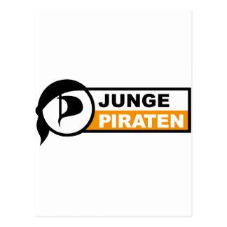 Junge Piraten Tarjeta Postal
