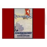 Jungfrau-Railway Bernese oberland Greeting Card