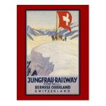 Jungfrau-Railway Bernese oberland Postcards