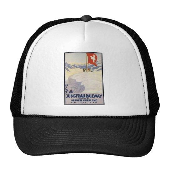 Jungfrau-Railway Bernese oberland Trucker Hat