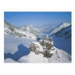 Jungfraujoch, el top de Europa Postales