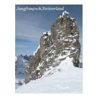 Jungfraujoch,Switzerland Postcard