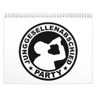 Junggesellenabschied Party Calendar
