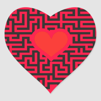 Junggesellenabschied Zubehört Heart Sticker