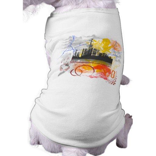 Jungle2 urbano camisas de mascota
