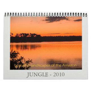 JUNGLE - 2010, beautiful landscapes ... Calendar