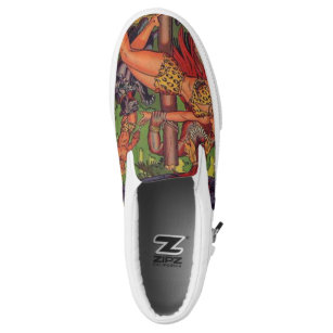 Jungle Adventure Slip-On Sneakers