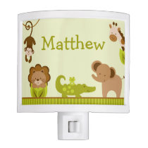 Jungle Animal Night Light