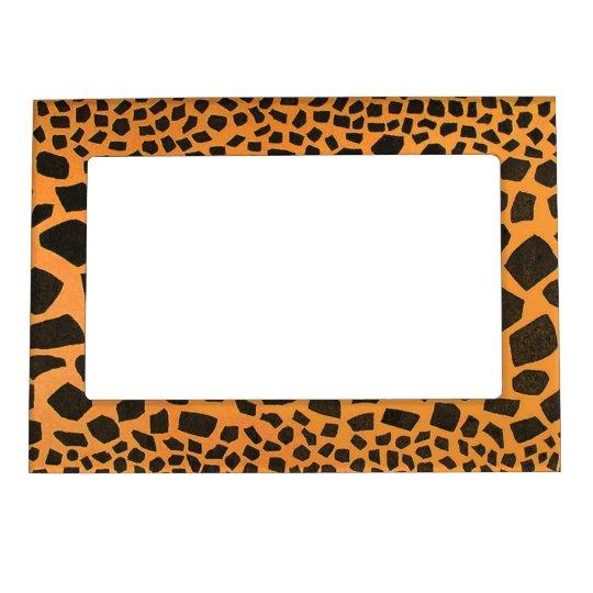 Jungle Animal Tiger Print Big Cat Magnetic Photo Frame