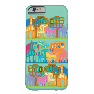 Jungle animals barely there iPhone 6 case