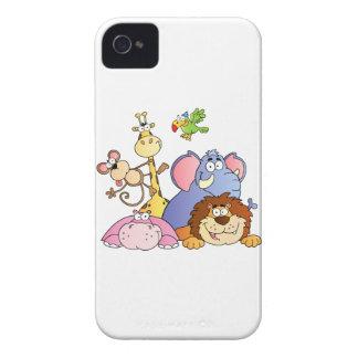 Jungle Animals Case-Mate iPhone 4 Case