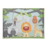Jungle Animals Fun Tyvek® Card Case Wallet