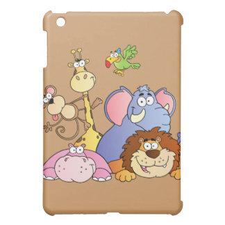 Jungle Animals iPad Mini Cover