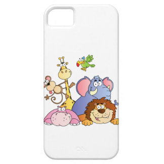 Jungle Animals iPhone SE/5/5s Case