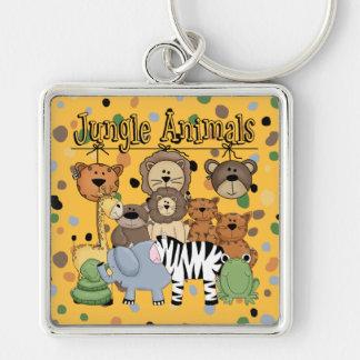 Jungle Animals Keychain