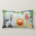 Jungle Animals Pillow