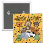 Jungle Animals Pin