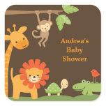 Jungle Animals Stickers