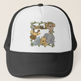 Jungle Animals Tshirts and Gifts Trucker Hat