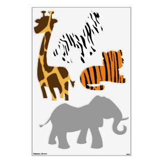 Jungle Animals Wall Decal Set