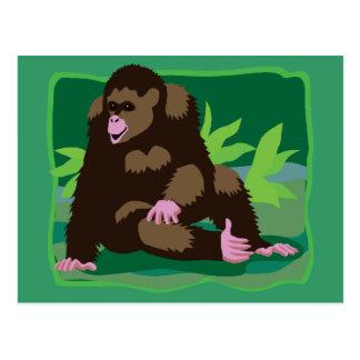 Jungle Ape Postcard