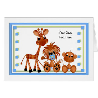 Jungle Babies All Occasion Card