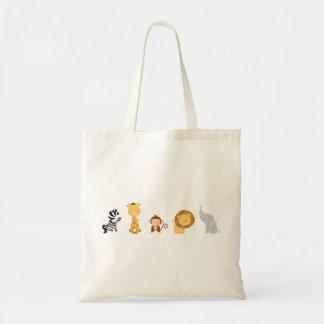 Jungle Babies Budget Tote Bag