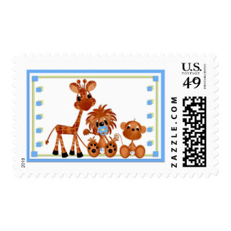 Jungle Babies Postage All Occasion