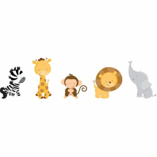 Jungle Babies Statuette