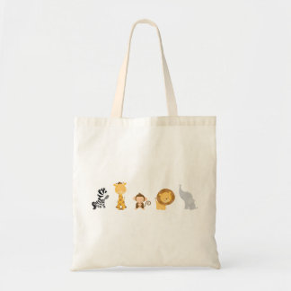 Jungle Babies Tote Bag