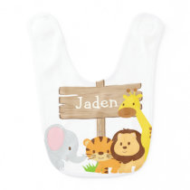 Jungle Baby bib