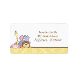 Jungle Baby Design Label