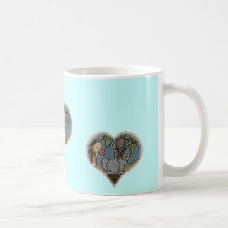 Jungle Baby Heart Coffee Mug