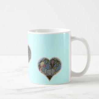 Jungle Baby Heart Mugs