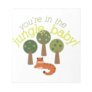 Jungle Baby Note Pads