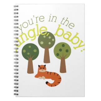 Jungle Baby Notebook