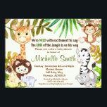 """Jungle Baby Shower Invitation, Safari Invitation<br><div class=""""desc"""">Great invitation for your Baby Shower!!</div>"""