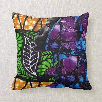 Jungle Beauty Throw Pillow