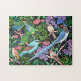 Jungle Birds of Asia Puzzle