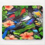 Jungle Birds of Mexico Mouse Mat