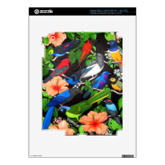 Jungle Birds of Mexico Zazzle Skin Skin For iPad 3