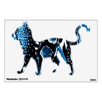 Jungle Blue Wall Sticker