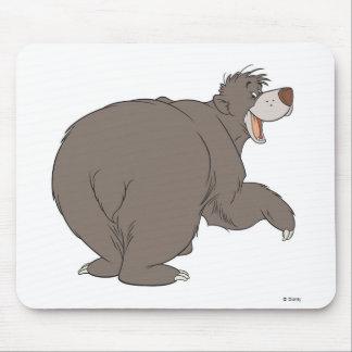 "Jungle Book Baloo bear dancing  ""follow me friend"" Mouse Pad"